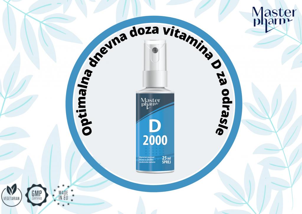Vitamin D oralni suplement u spreju